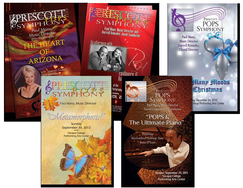 brochures programs foghara advertising